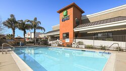 Have a morning or afternoon dip in our outdoor pool.