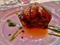 tortino al pistacchio