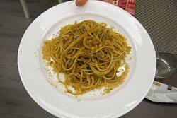 Spaghetti di Gragnano con sarde e finocchietto, buonissimi!