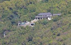 Tropical Hideaway as seen through a tele photo lens