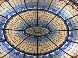 la cupola sulla hall