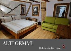 Deluxe double room + sofa
