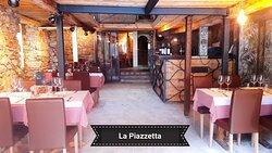 "Entry of our new  italian restaurant ""La Piazzetta"""