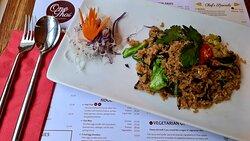 Stir-fried rice - lunch dish