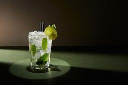 Mojito Cocktail (Bacardi Rum, Fresh Mint, Fresh Lime Juice  & Sirop)