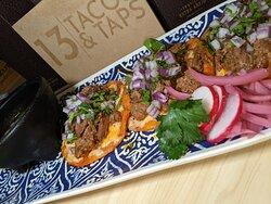 Birria Taco plate