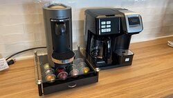 Amenity: Nespresso machine and combo Keurig/coffee pot