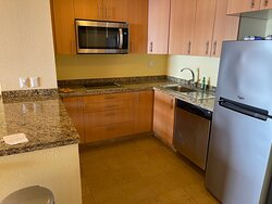 Kitchen in the one bedroom