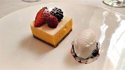 cheesecake e gelato