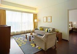 Gateway Gondia Executive Suite Living Room