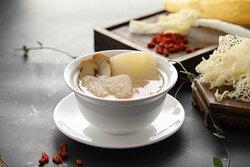 Stewed Matsutake with Fish Maw