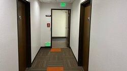 MH Relax Inn Franklin IN Amenities Hallway