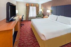 King Guest Room Sleeping Area