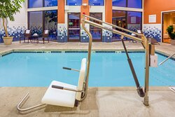 ADA/Handicapped Swimming Pool lift for your use