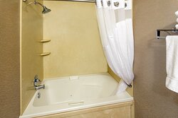 King Executive Suite Bathroom with Whirlpool Jets