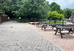 2.  Limeburners Cafe, Amberley Museum, Amberley, West Sussex