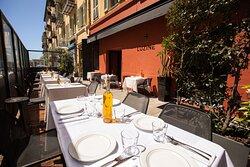 On dirait le sud ! Déjeunez en terrasse sous le soleil de nice !