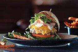 Burger at Big Horn Steakhouse