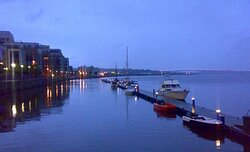 The riverside in Derry