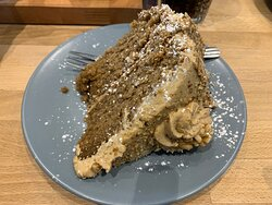 The World's best coffee and walnut cake (and it's massive)