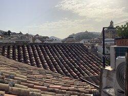 La Alhambra desde la terraza.