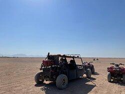 Hurghada, quadbike and boogie safari