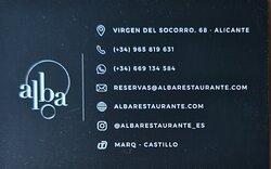 Información  restaurante