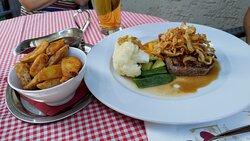 Amendinger Stuben in Memmingen, lecker Essen
