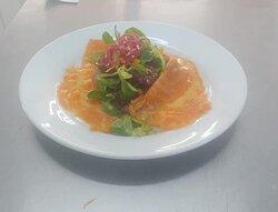 Uig Lodge Salmon Salad