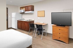 Guest room with kitchenette limted equiptment