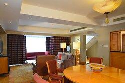 Duplex Suite living area