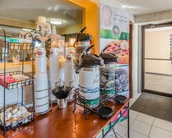 Free coffee available 24-hours