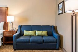 Guest room with sofa sleeper