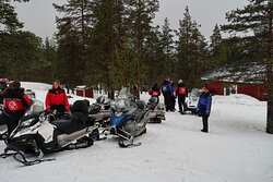 Snowmobile tour - Corporate Events