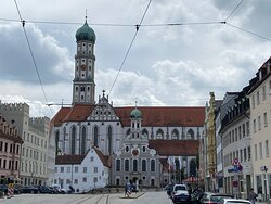 Nordansicht von St. Ulrich und Afra