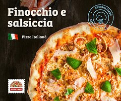 A delicious pizza, inspired by traditional Italian recipes that will leave your mouth watering.