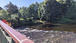 Views from Dalgincross Bridge