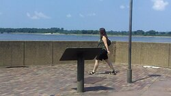 Mud Island, Memphis on the Mississippi River