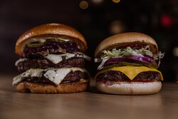 Double big Mo and Classic one burger