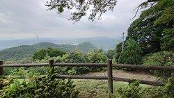 岡山市方面の景色