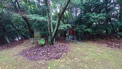 熊山遺跡と猿田彦神社の分かれ道