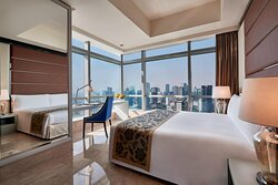 Three Bedroom Residence Bedroom