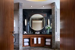 Bathroom at the suites of The Ritz-Carlton Jakarta, Pacific Place