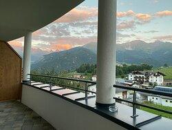 Foto vanaf het balkon