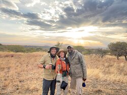 One of my favorite photos with our friend and guide Jeremiah