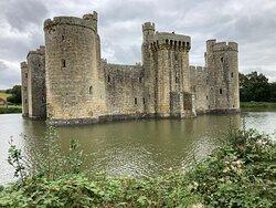 5.  Bodiam Castle, Bodiam, East Sussex