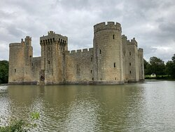 6.  Bodiam Castle, Bodiam, East Sussex