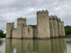 8.  Bodiam Castle, Bodiam, East Sussex