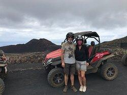 Mucho más que una ruta de volcanes en buguie!
