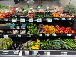 Fresh, local, organic produce